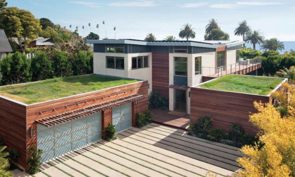سرسبز چھتوں کی افادیت
