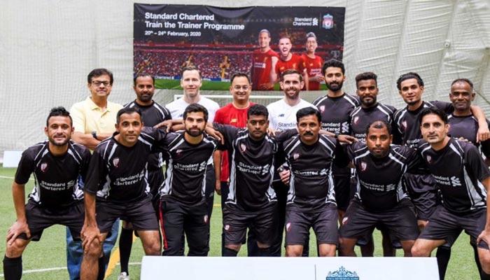لیورپول کوچز سے تربیت یافتہ کراچی یونائیٹڈ کے کوچز کھلاڑیوں کو ٹریننگ دینگے
