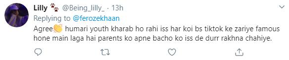 فیروز خان نے ٹک ٹاک کو کینسرقرار دےدیا