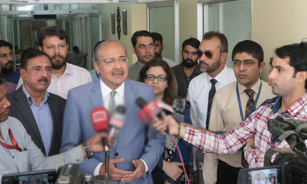 کراچی، 16 ویں چیسٹ پین یونٹ کا افتتاح