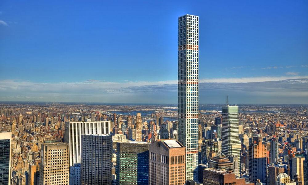 نیویارک میں زیرِ تعمیر دنیا کا بلند ترین رہائشی ٹاور