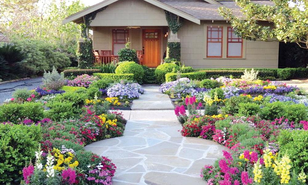 'باغیچے کی تزئین' گھر کی قدر و قیمت بڑھائے