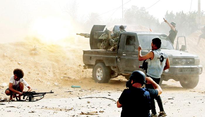 لیبیا میں خانہ جنگی
