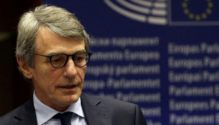 کرونا کا خدشہ: یورپین پارلیمنٹ کے صدر نے خود کو گھر تک محدود کرلیا