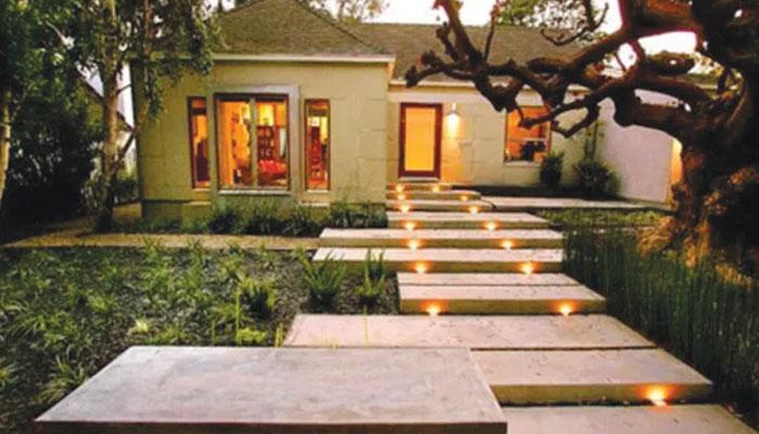 گھر کے بیرونی حصے کیلئے'روشنیوں' کا انتخاب