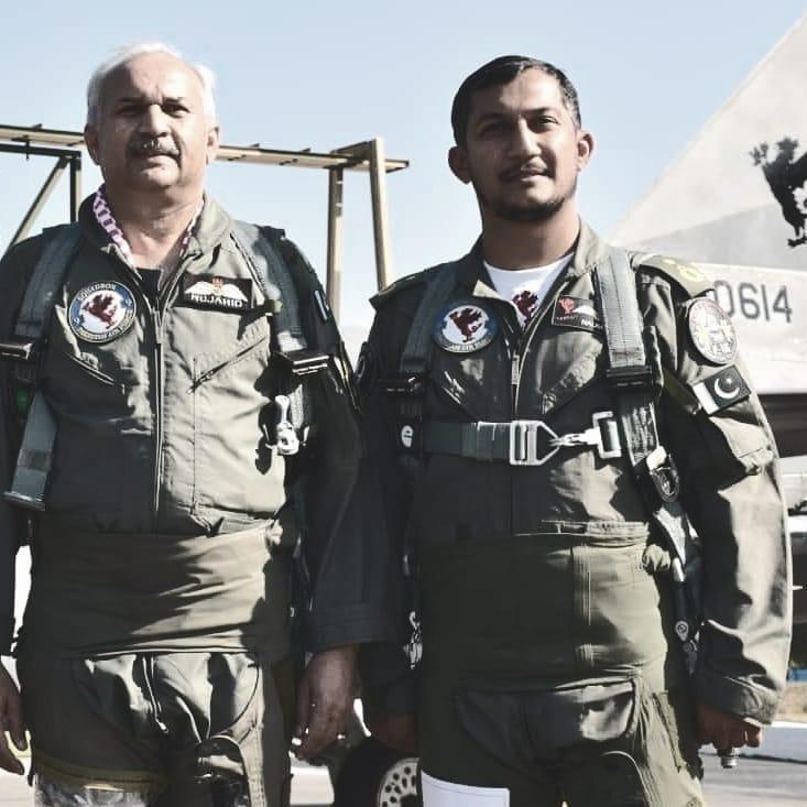 اسلام آباد، F-16 گر کر تباہ، ونگ کمانڈر شہید