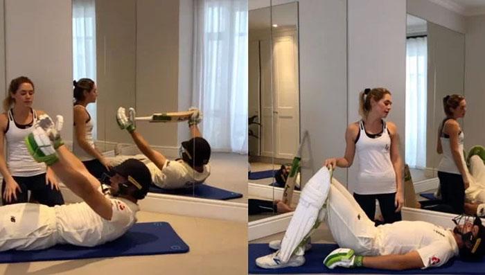 کورونا وائرس: جوز بٹلر نے گھر پر ورزش شروع کر دی