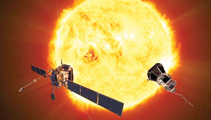 سورج کو قریب سے دیکھنے کی تیاری