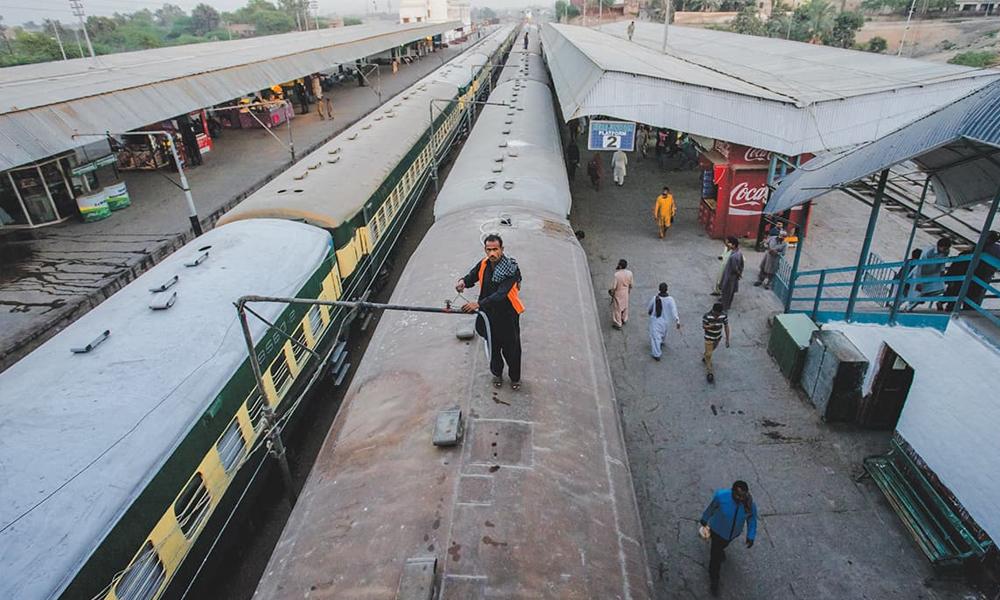 پنجاب ، ریلوے اسٹیشنز اور ٹرینوں کی دھلائی آج سے ہوگی