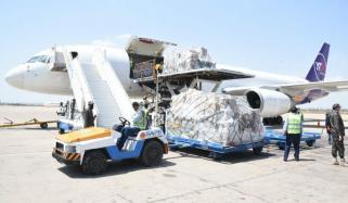 چین سے طبی آلات کی ایک اور کارگو فلائٹ کی کراچی آمد