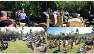 وزیراعظم کی زیر صدارت پی ٹی آئی کور کمیٹی کا اجلاس