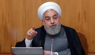 وائرس کی ویکسین دریافت ہونے تک لڑائی جاری رہے گی، صدر ایران