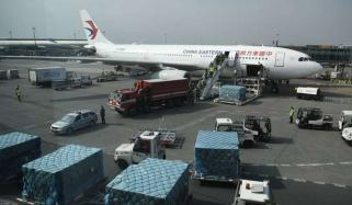 چین سے ایک اورجہاز طبی آلات لے کر کراچی پہنچ گیا
