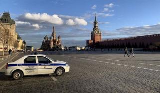 کورونا وائرس: ماسکو میں آج سے لاک ڈاؤن شروع