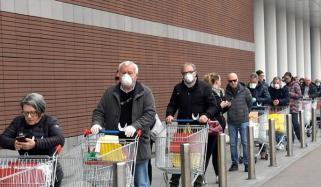 یورپ میں کورونا وائرس کا پھیلاؤ جاری