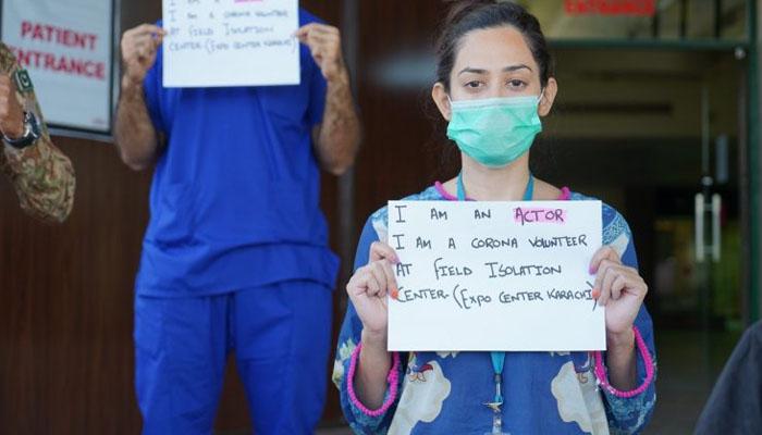 کورونا، کراچی ایکسپو سینٹر میں ینگ ڈاکٹرز اور نوجوانوں کا قابل فخر جذبہ