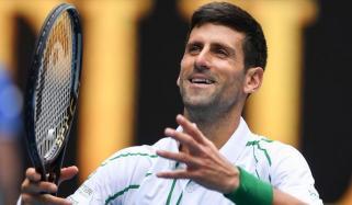 لاک ڈاؤن: جوکووچ نے گھر میں ٹینس کورٹ بنایا