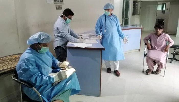 آزاد کشمیر میں کورونا کا پہلا اسپتال قائم