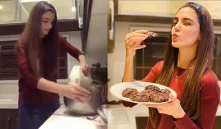 مایا علی نے چاکلیٹ چِپ کوکیز بیک کر لیے