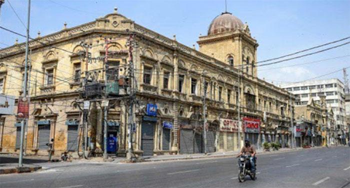 کورونا کے باعث کراچی میں 14 ویں روز بھی لاک ڈائون جاری رہا