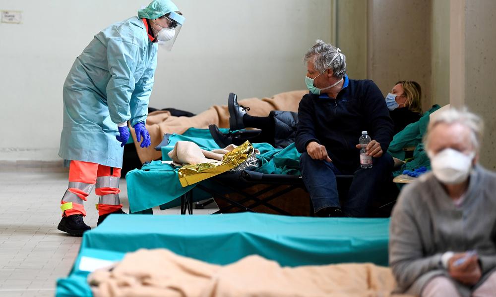 اسپین میں کرونا وائرس کے متاثرین اٹلی سے بڑھ گئے