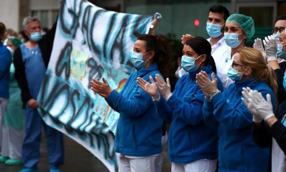 سپین میں کرونا وائرس، متاثرین اور شرح اموات میں کمی
