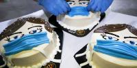فلسطینی بیکر نے 'کورونا کیک 'تیار کرلیا