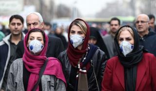 ایران: کورونا سے مزید 133 اموات، مجموعی تعداد 3872 ہوگئی