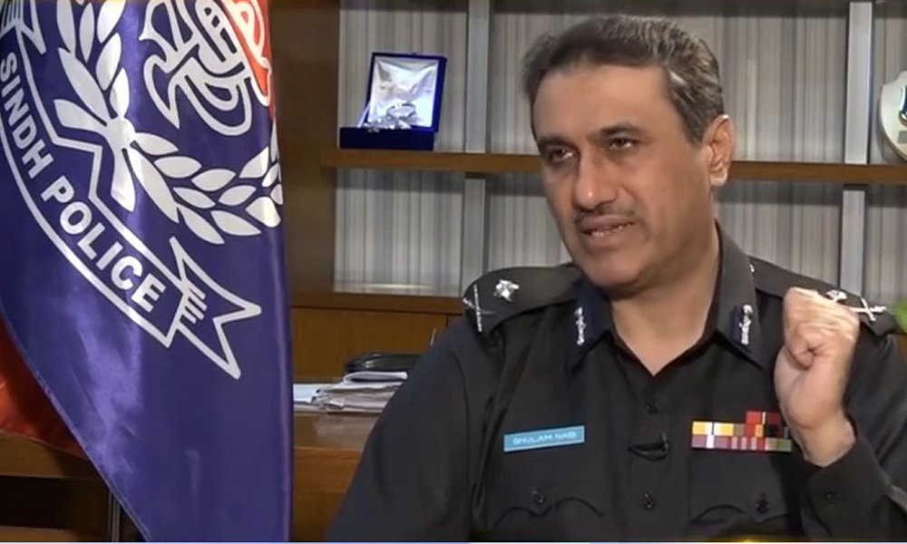 کراچی پولیس چیف کی لاک ڈاؤن خلاف ورزی پر کارروائی کی ہدایت