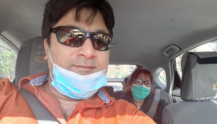 اسپین میں پاکستان ڈرائیور کا مفت سروس دینے کا اعلان