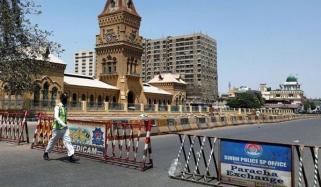 سندھ : آج دوپہر 12 سے ساڑھے 3 بجے تک مکمل لاک ڈاؤن