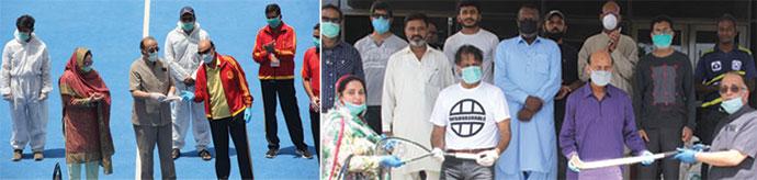 کراچی اسپورٹس فورم مستحق کھلاڑیوں کے دروازے پر دادرسی کے حوالے سے ملک بھی میں نئی مثال قائم کردی