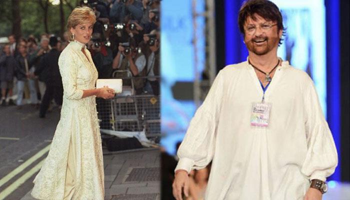 رضوان بیگ نے لیڈی ڈیانا کی پاکستانی لباسوں سے محبت بیان کردی