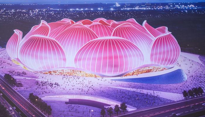 چین ، دنیا کا سب سے بڑا فٹبال اسٹیڈیم بنانے کی تیاری