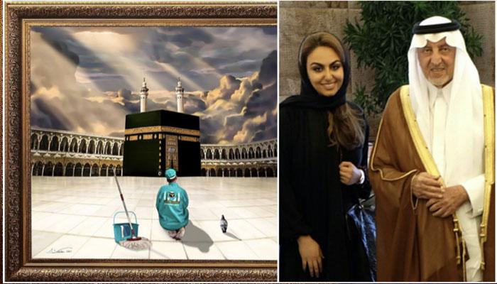 سعودی آرٹسٹ کی شاہکار پینٹنگ مقبول کیوں؟