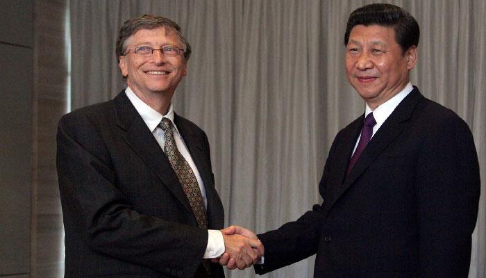 بل گیٹس کا چین کے حق میں بیان، امریکا کو آڑھے ہاتھوں لے لیا