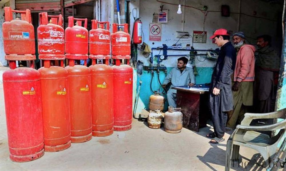 LPG کی قیمت میں 22 روپے فی کلو کا اضافہ