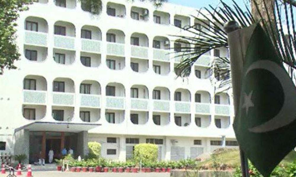 بھارتی ہائی کمیشن کے سینئر سفارت کار کی دفتر خارجہ طلبی