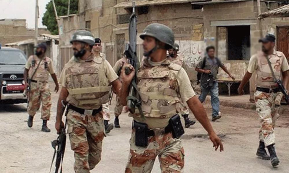 کراچی، رینجرزکی کارروائی، لیاری گینگ وار کے دو کارندے گرفتار