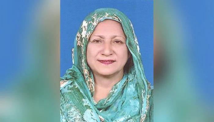پی ٹی آئی MPA شاہین رضا کا کورونا سے انتقال