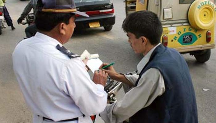کراچی، چالان اور جرمانے کے اعداد و شمار جاری