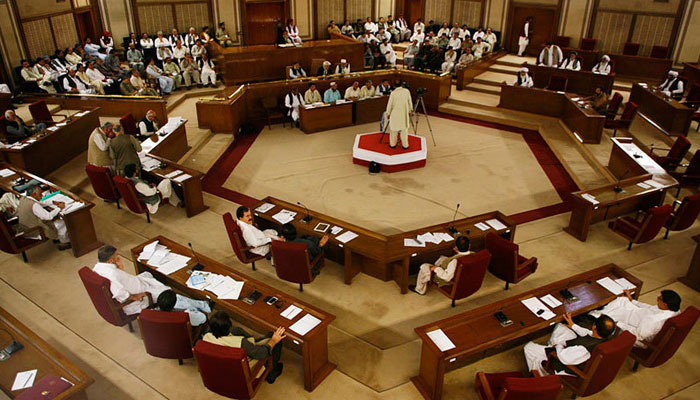 بلوچستان اسمبلی کا اجلاس غیر معینہ مدت تک ملتوی