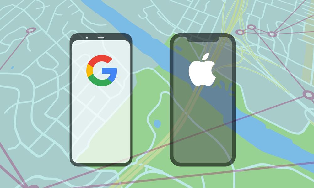 ایپل اور گوگل نے کورونا سے متعلق ایپ لانچ کردی