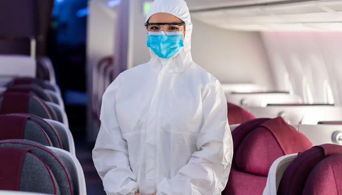 کورونانے فضائی کمپنیوں کے عملے کو بھی ڈاکٹروں جیسا بنادیا