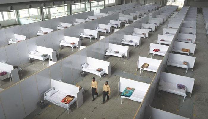 لاہور: فیلڈ اسپتال میں کورونا مریضوں کو اہلخانہ سے ملاقات کی اجازت