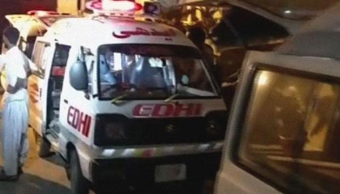 کراچی میں تاجر کی چھٹی منزل سے کود کر خودکشی