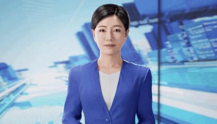 چین میں دنیا کی پہلی تھری ڈی اینکر