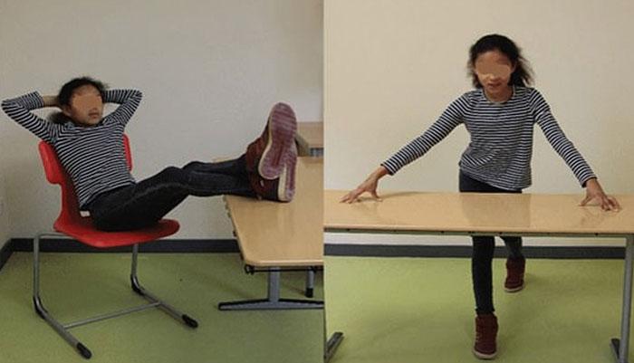 بالکل سیدھے بیٹھنے سےبچوں کی خود اعتمادی میں اضافہ ہوتا ہے، تحقیق