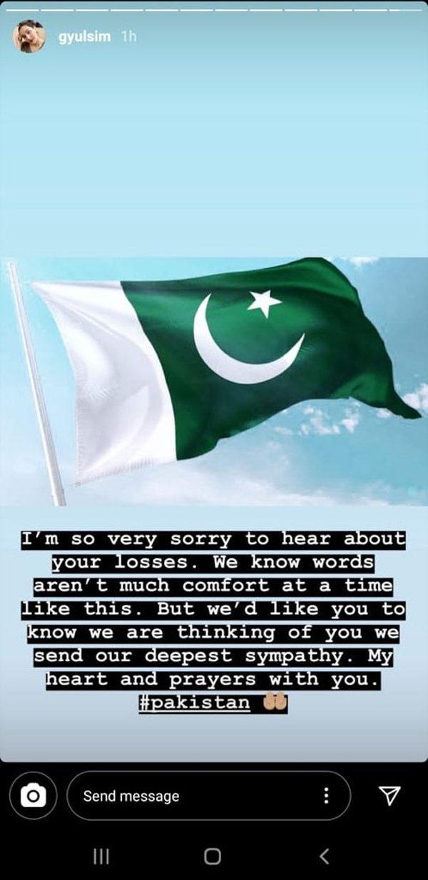 طیارہ حادثہ،ترکش اداکارہ کا پاکستانیوں سے اظہار ہمدردی