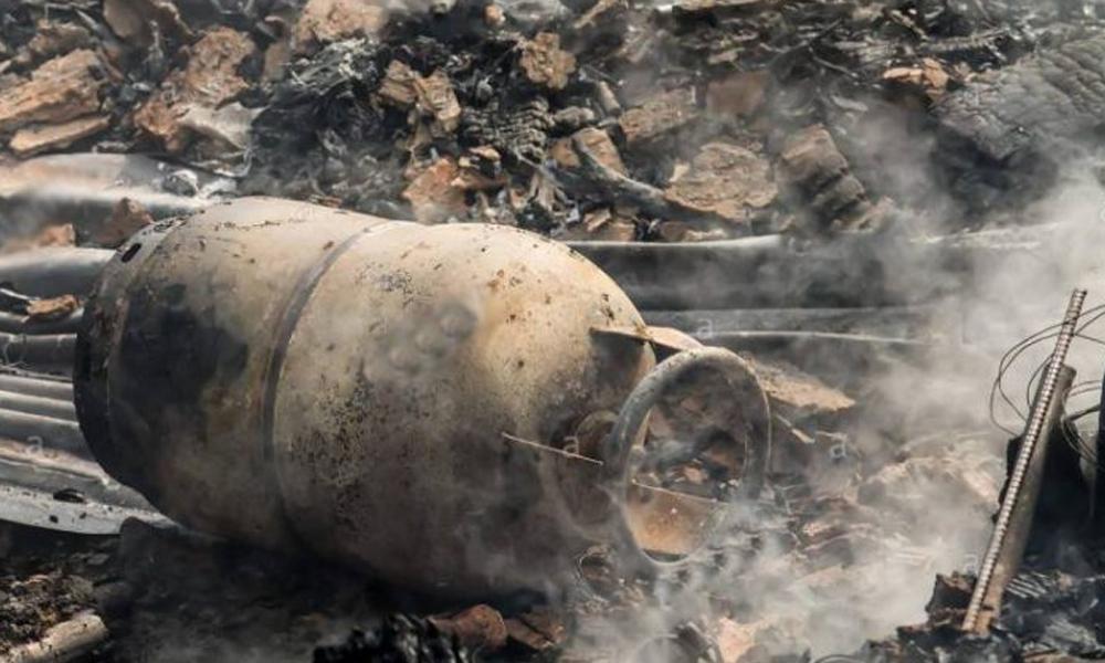 لاہور، سلنڈر پھٹنے سے ماں اور  5سالہ بیٹاجاں بحق